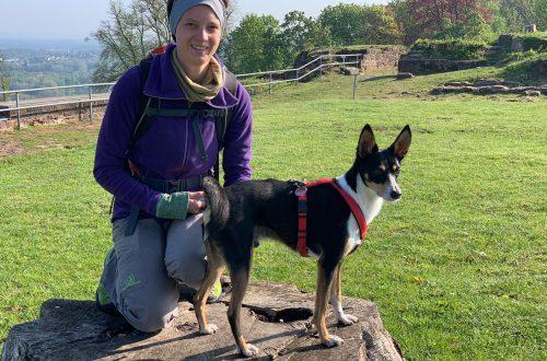 Jana Pietsch mit Hund Casper